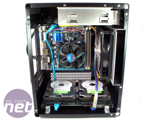 Lian Li PC-Q11 review PC-Q11 Build Process