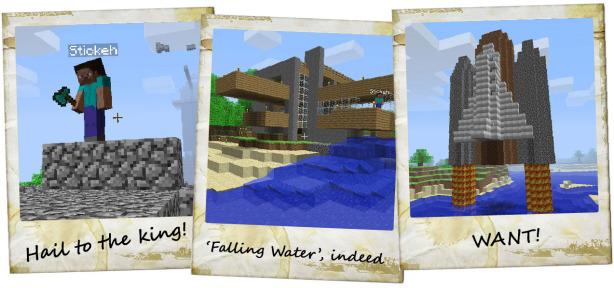 *A Letter from Minecraft A Letter from Minecraft
