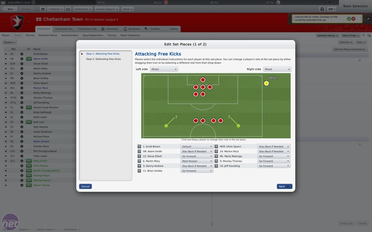 Football Manager 2011 Pre-Match Interview   bit-tech net