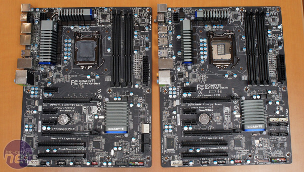 Gigabyte GA-P67A-UD4, P67A-UD3R Preview Gigabyte GA-P67A-UD4, P67A-UD3R Preview: Black PCB!