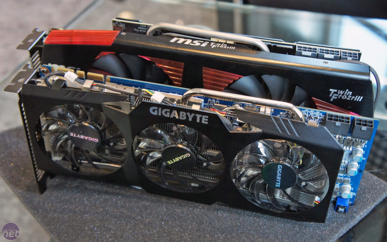 Gigabyte Geforce Gtx 480 Soc Preview Power Amplifier Extreme V Xii A Quick Comparison