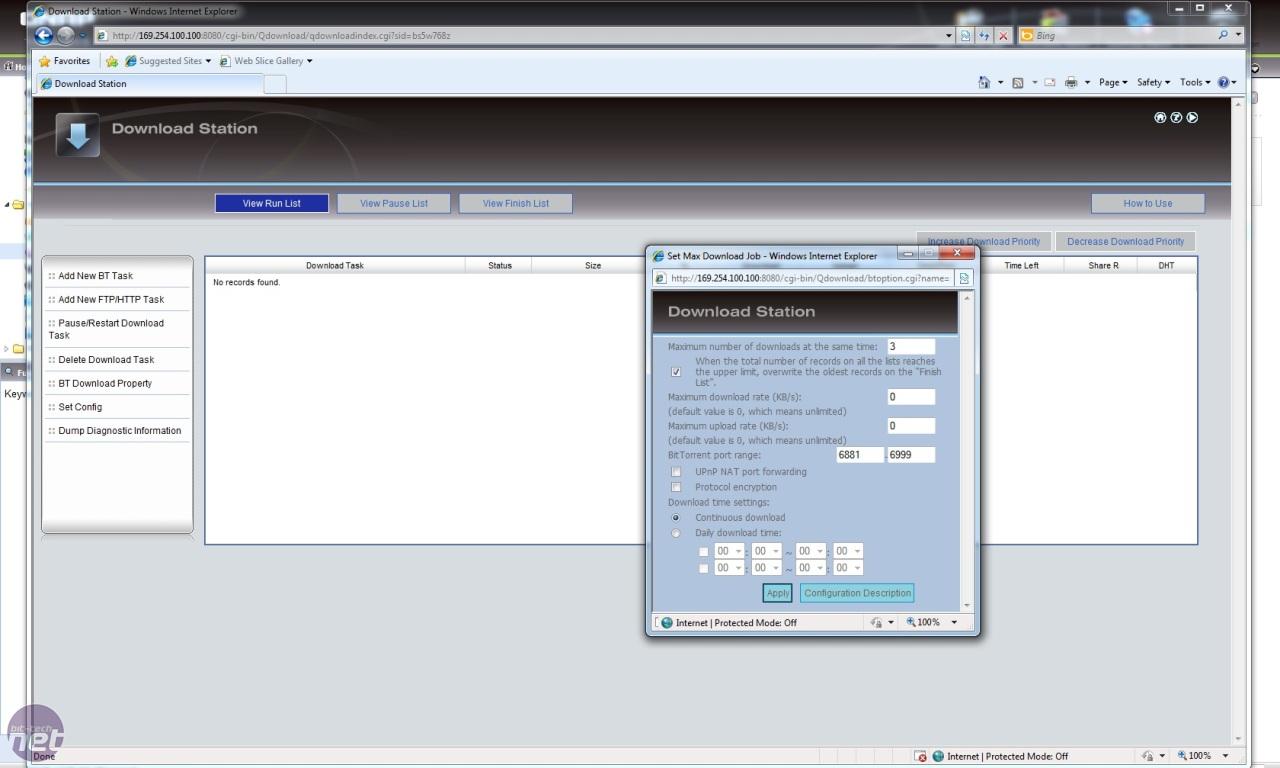 QNAP TS-210 Turbo NAS Review | bit-tech net
