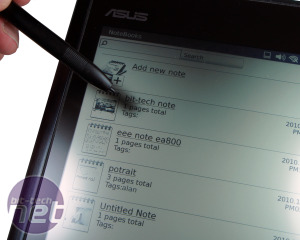 *Asus Eee Note EA800 Review Eee Note EA800: Hardware