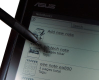 Asus Eee Note EA800 Review