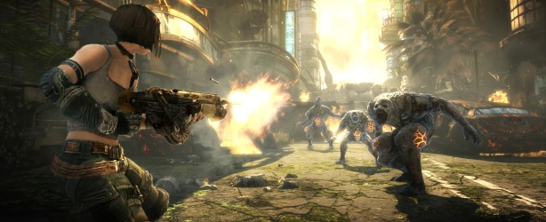 Bulletstorm Preview Bulletstorm Xbox 360 Preview