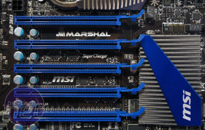MSI Big Bang Marshal Preview That's a whole lotta PCI-E there, Marshal