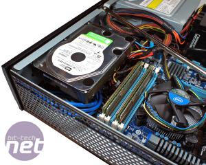 Silverstone ML03 Home Theatre PC case review Silverstone ML03: Building