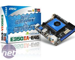 AMD Zacate mini-ITX Motherboards Preview MSI E350-E45 mini-ITX preview