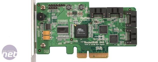 HighPoint RocketRAID 640 Review HighPoint RocketRAID 640 Test Setup