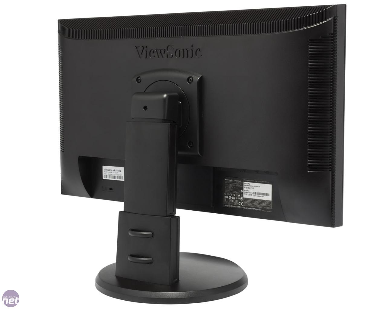 viewsonic vp2365wb review bit tech