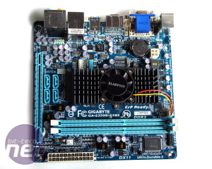 *Gigabyte GA-E350N-USB3 Mini-ITX Review AMD's New Brazos Blatform: E-350 APU and Hudson M1 FCH