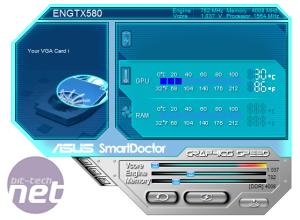 Asus GeForce GTX 580 DirectCU II Preview Overclocking Asus GeForce GTX 580 DirectCU II
