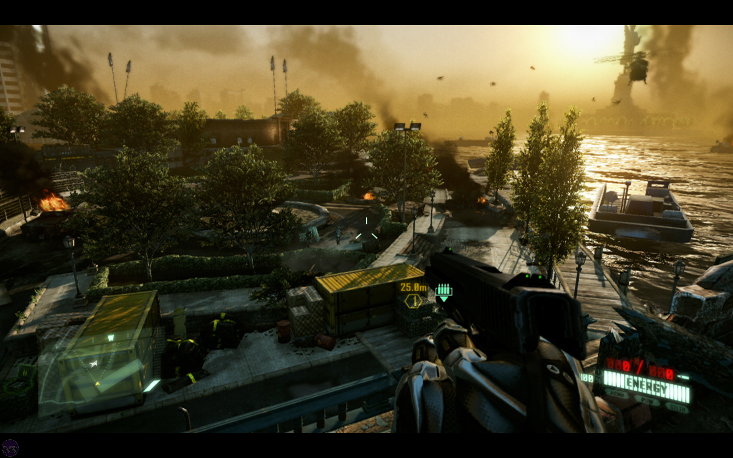 Xbox One Game Graphics : Crysis xbox vs pc comparison bit tech