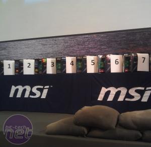 *MSI Master Overclocking Arena 2011 MSI Master Overclocking Arena 2011
