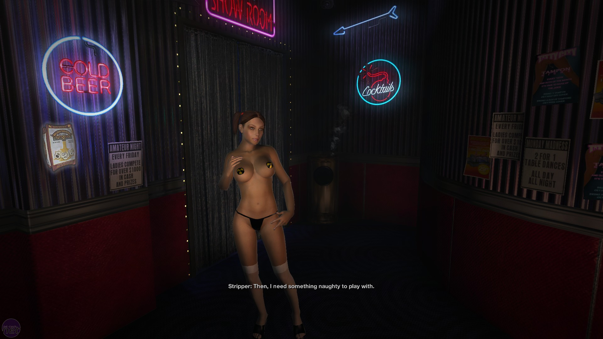 nude girls from duke nukem forever