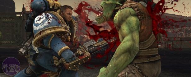 Warhammer 40K: Space Marine Preview Warhammer 40K: Space Marine Xbox 360 Preview