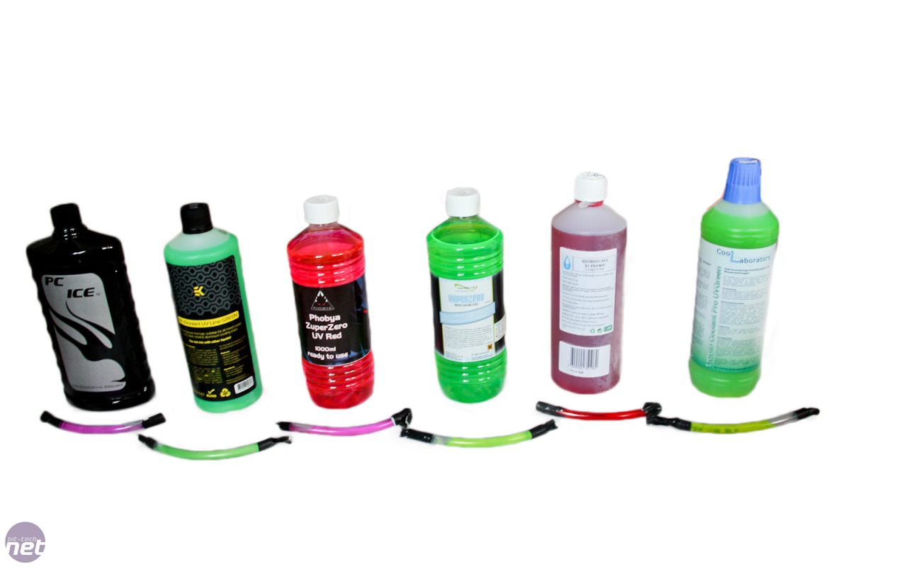 What is the best UV water-cooling coolant? | bit-tech net