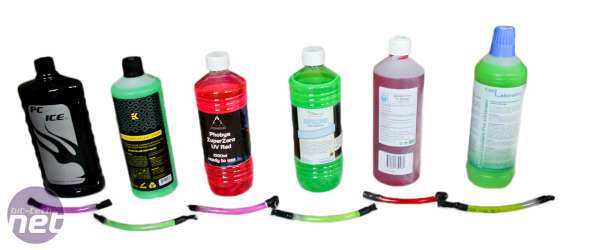 *What is the best UV water-cooling coolant? UV/Colour Testing and Cooling and Flow Rate Performance