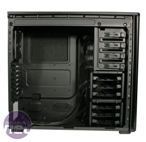 Corsair Obsidian 550D Review Corsair Obsidian 550D - Interior