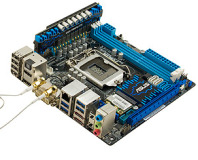 Mini-ITX Z77 motherboard previews