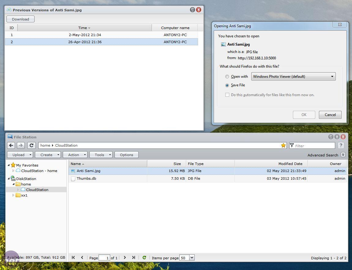 Cloud Station Synology Mac
