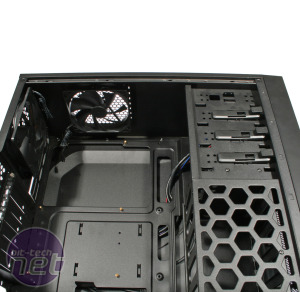 Antec One Review Antec One - Interior