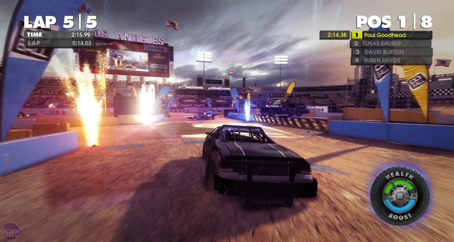 Dirt Showdown review Dirt Showdown Review EXPLOSIONS, LOOK!