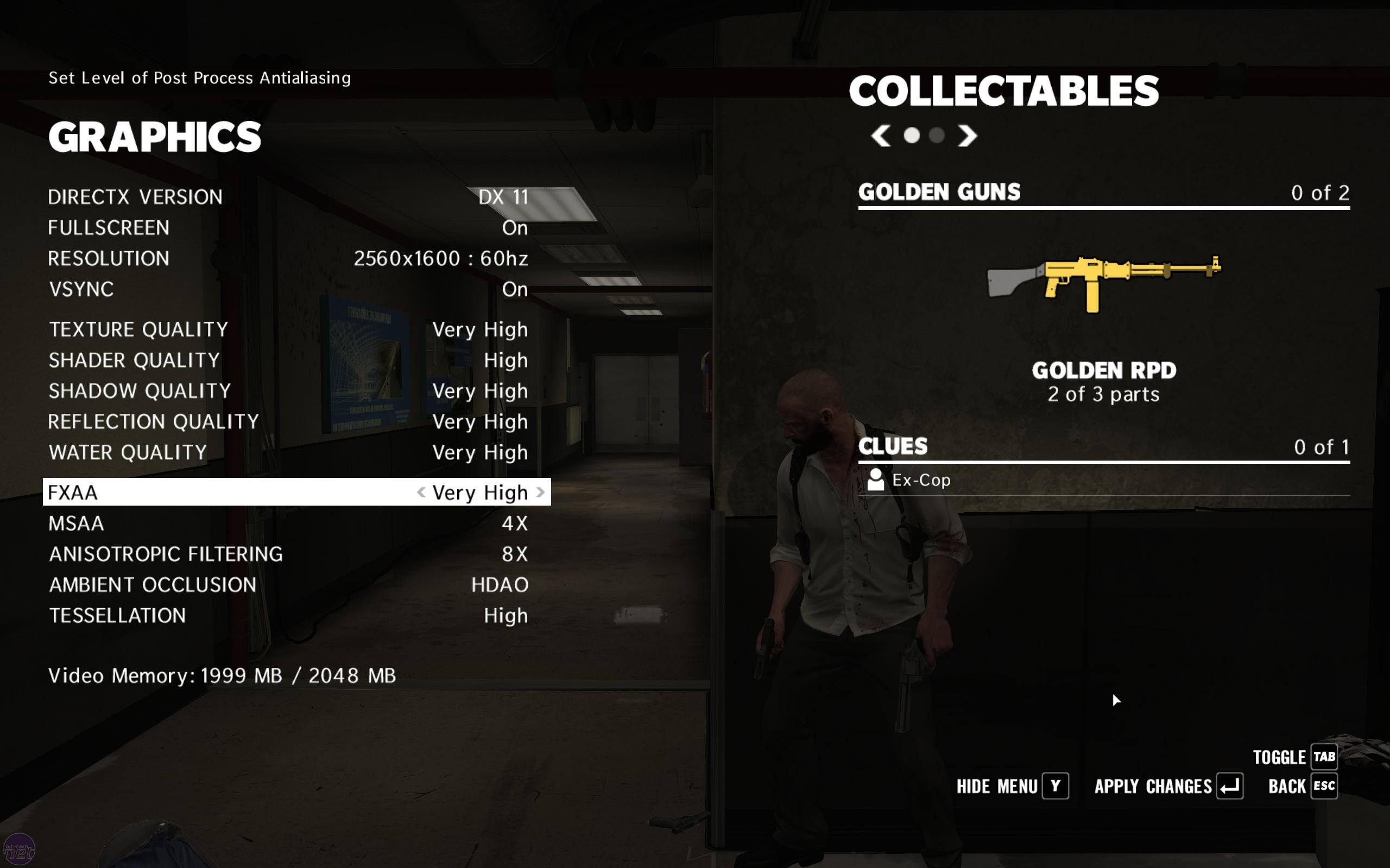 max payne 3 gameplay pc max settings