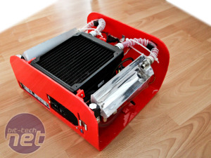 Scratchbuilt PC: Water-cooling feature Scratchbuilt PC - Water-cooling feature continued