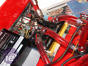 Scratchbuilt PC: Water-cooling feature Scratchbuilt PC - Cooling system and water-cooling feature