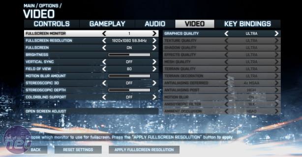 Nvidia GeForce GTX 660 2GB Review GeForce GTX 660 2GB - Battlefield 3 Performance