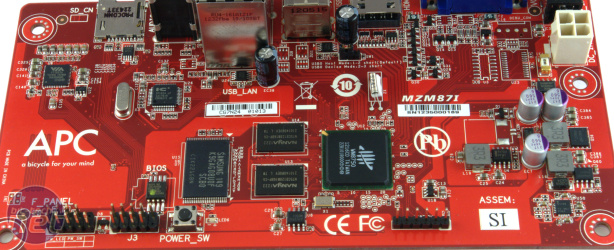 *VIA APC8750 review VIA APC8750 - The Board