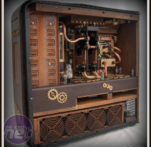 December 2012 Bit-tech modding update  Steampunk'd TJ11 by Fuganater
