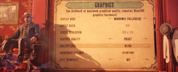 Bioshock Infinite Performance Analysis Bioshock Infinite Detail Preset Performance