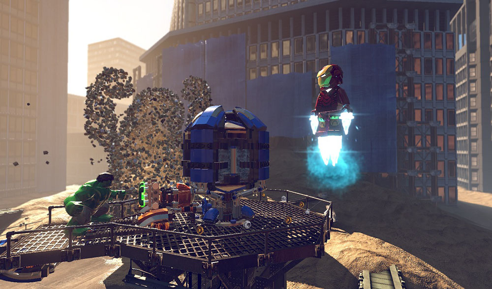 Screens Zimmer 9 angezeig: lego superheroes game