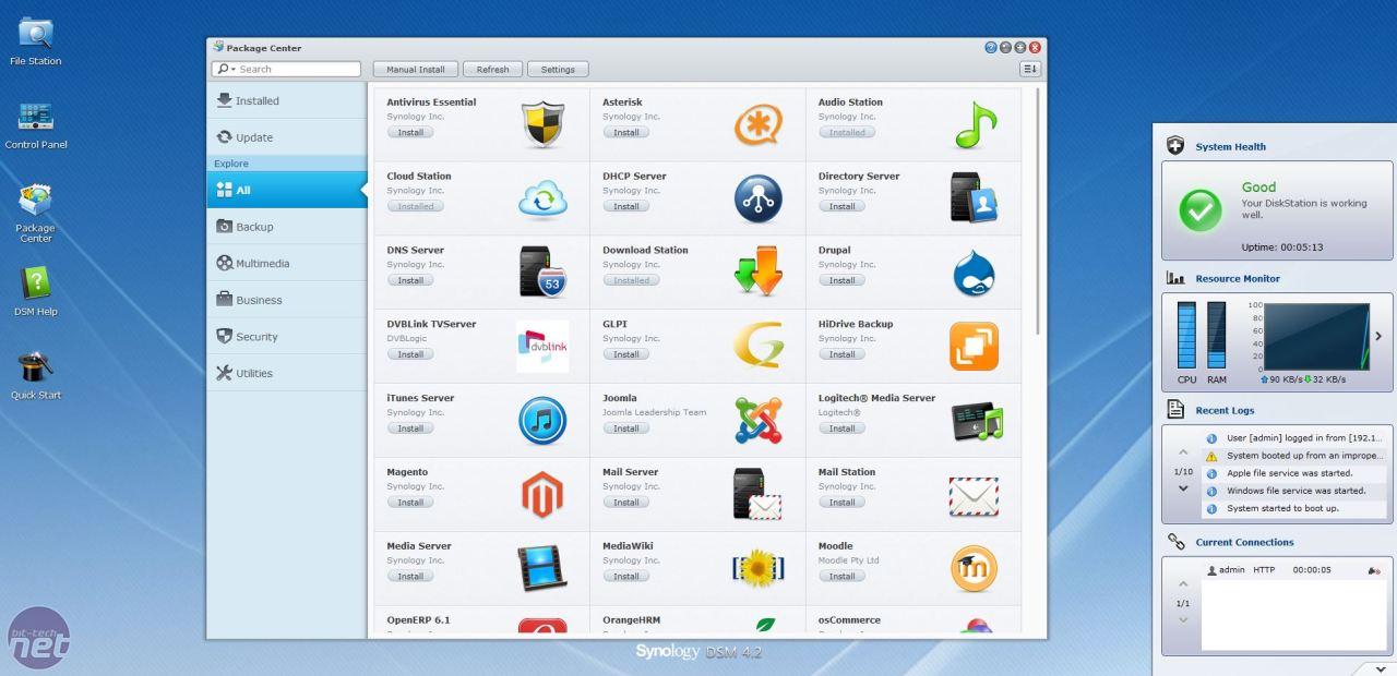 Synology DS213air Review | bit-tech.net