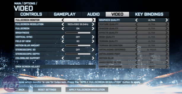 Nvidia GeForce GTX 770 2GB Review GeForce GTX 770 2GB - Battlefield 3 Performance