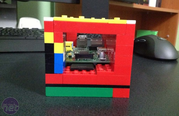 Raspberry Pi Case Competition Voting Lego Case by fdbh96