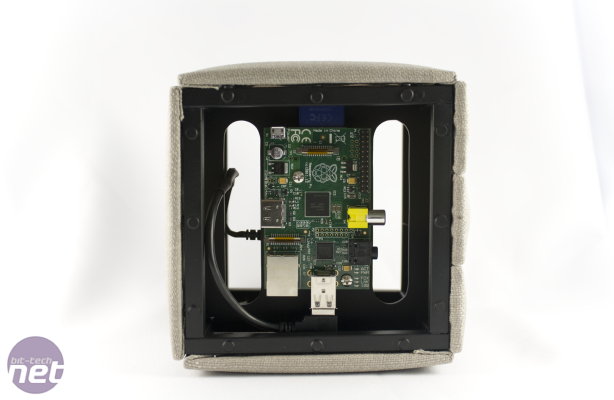 Raspberry Pi Case Competition Voting PiQu by Azariel