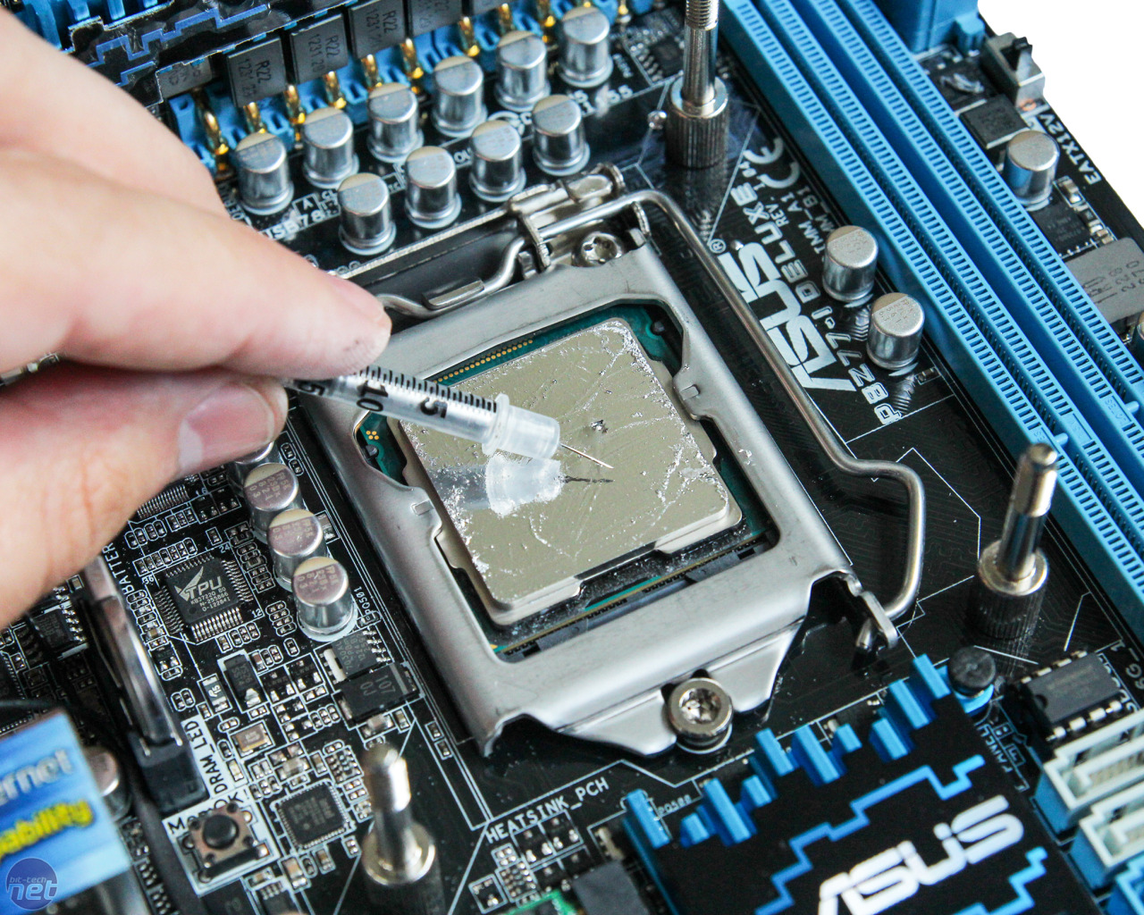 make sure to remove old thermal paste and clean cpu surface