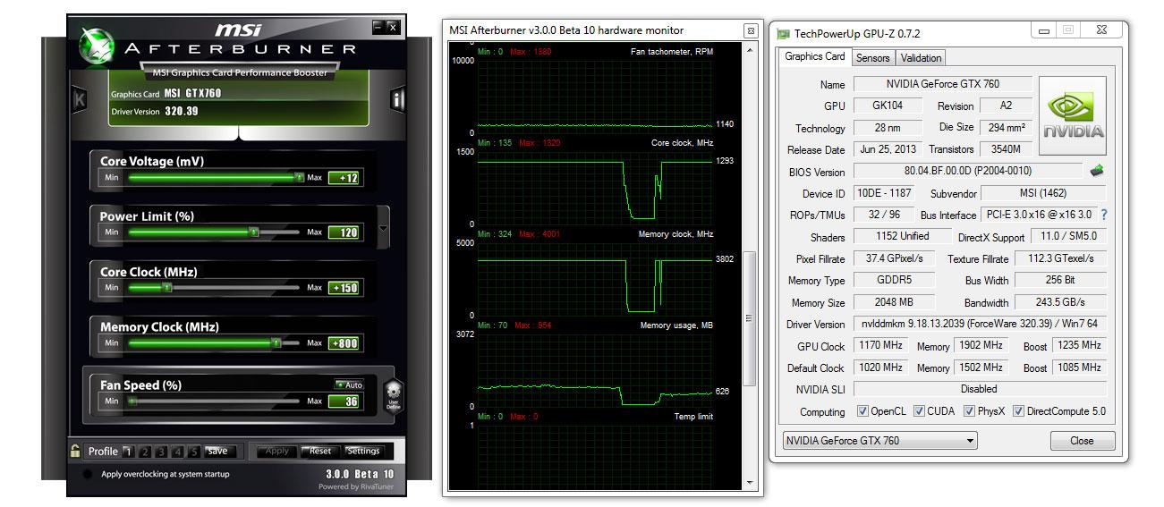 MSI GeForce GTX 760 Twin Frozr OC 2GB Review | bit-tech net