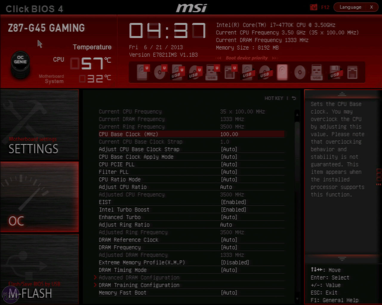 MSI Z87-G45 Gaming Review | bit-tech net