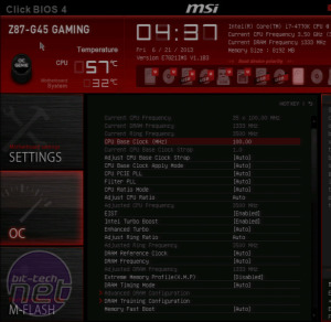 *MSI Z87-G45 Gaming Review MSI Z87-G45 Gaming - Overclocking, Analysis and Conclusion