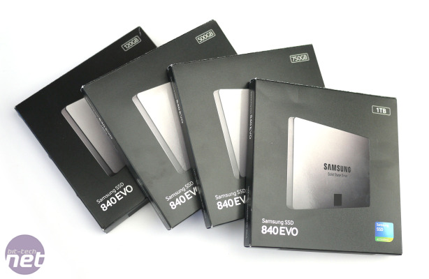 Samsung SSD 840 Evo 120GB, 500GB, 750GB, 1TB Review