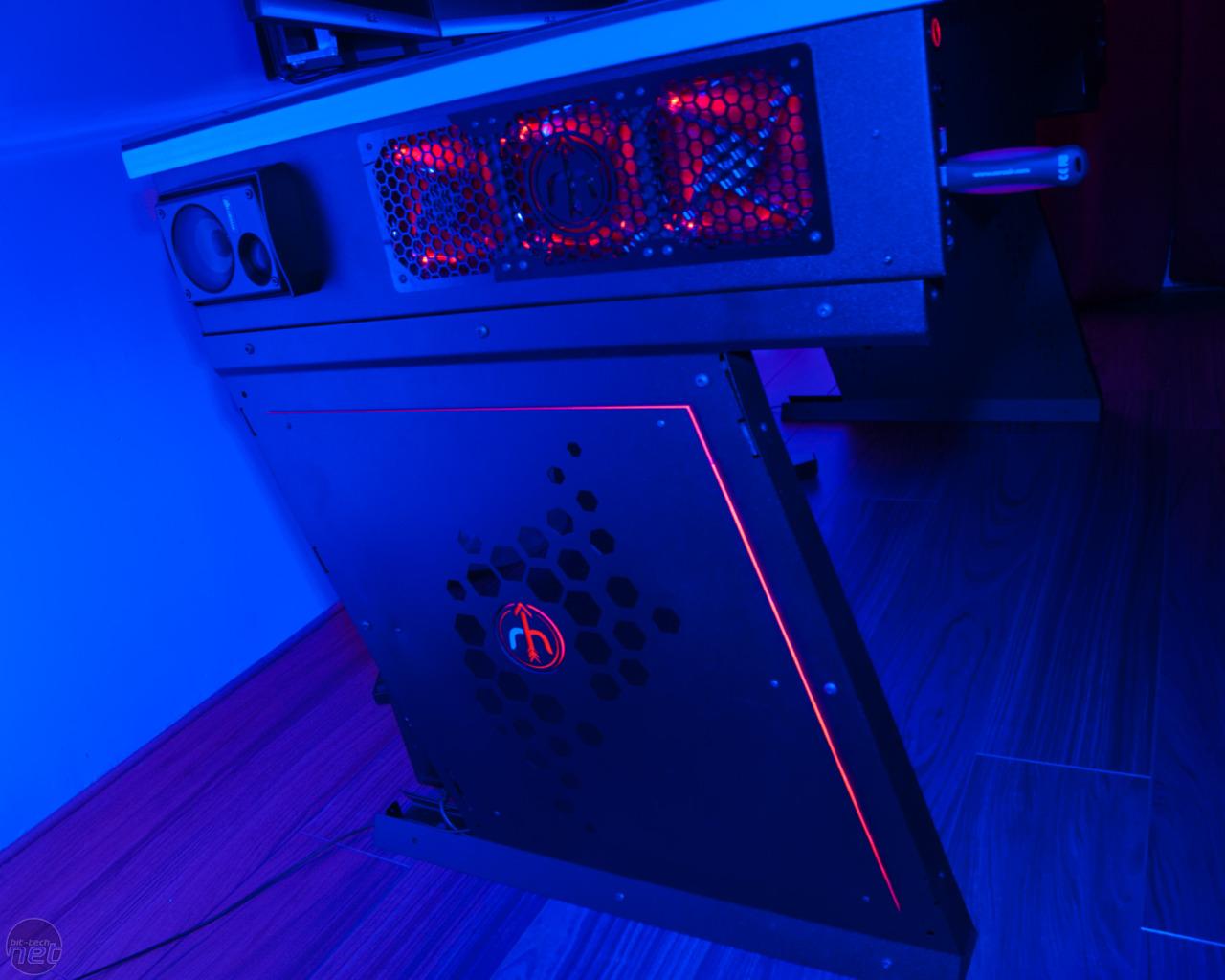 Red Harbinger Cross Pc Desk Available To Pre Order Bit