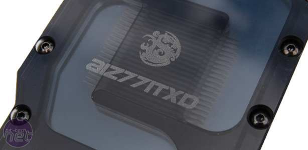 Bitspower AIZ77ITXD Asus P8Z77-I Deluxe Waterblock Review Bitspower AIZ77ITXD Asus P8Z77-I Deluxe Waterblock - Performance Analysis and Conclusion