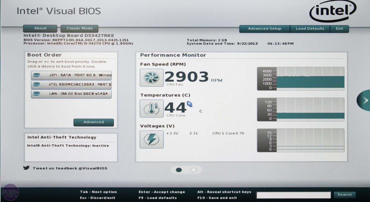 Intel NUC DC53427RKE / HYE Review | bit-tech net