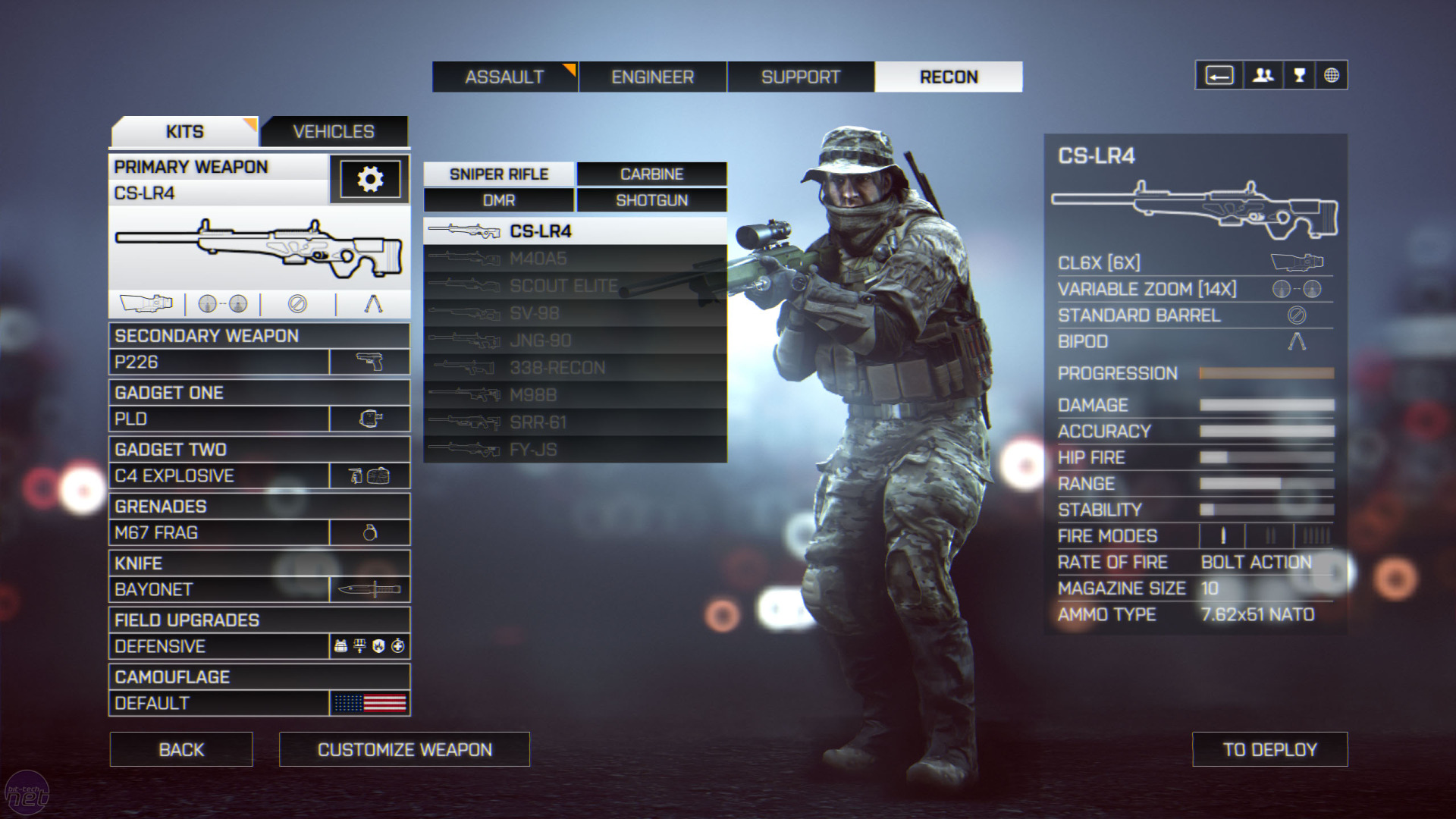 how to play commander in bf4