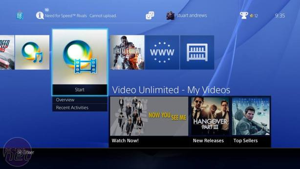 PlayStation 4 Review PlayStation 4 Review - Software and Interface