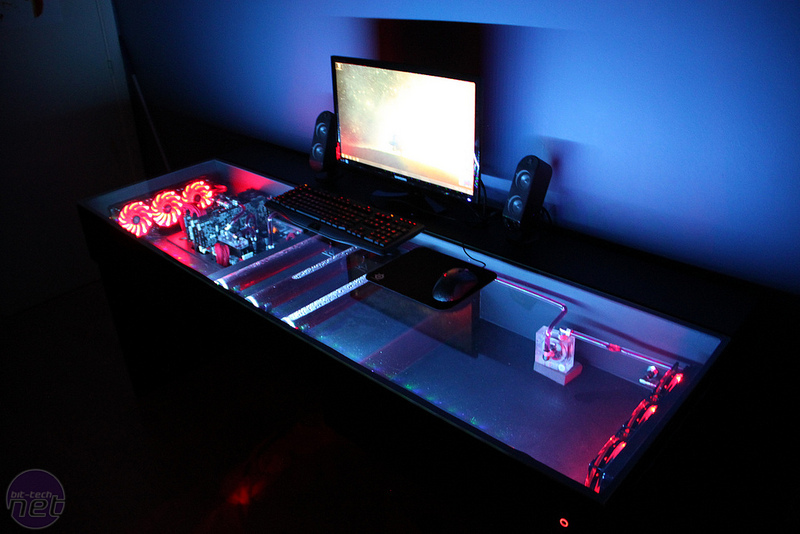 station and room gaming computer desk youtube setup my of gorgeous tour pc mod